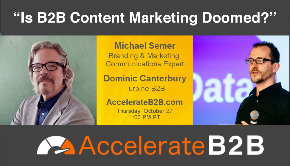 "[WATCH] ""Is B2B Content Marketing Doomed?"""