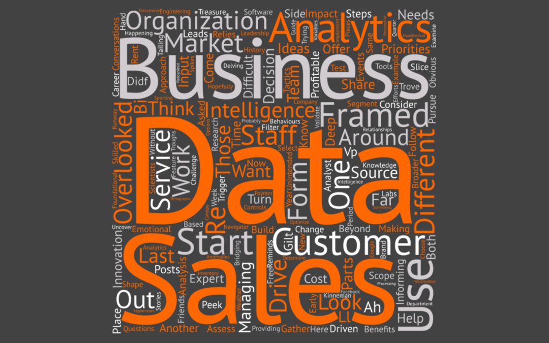 Data in Different Forms: Using Sales Data to [Re]shape Customer Relationships